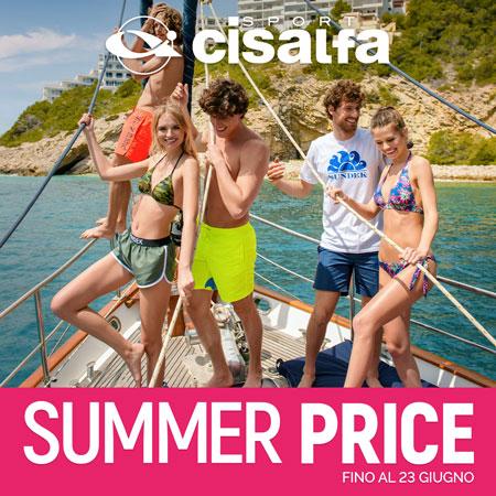 Da Cisalfa Sport scopri i Summer price!
