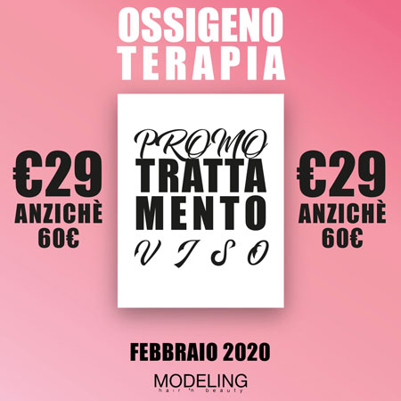 BEAUTY FACE: Ossigenoterapia a 29€